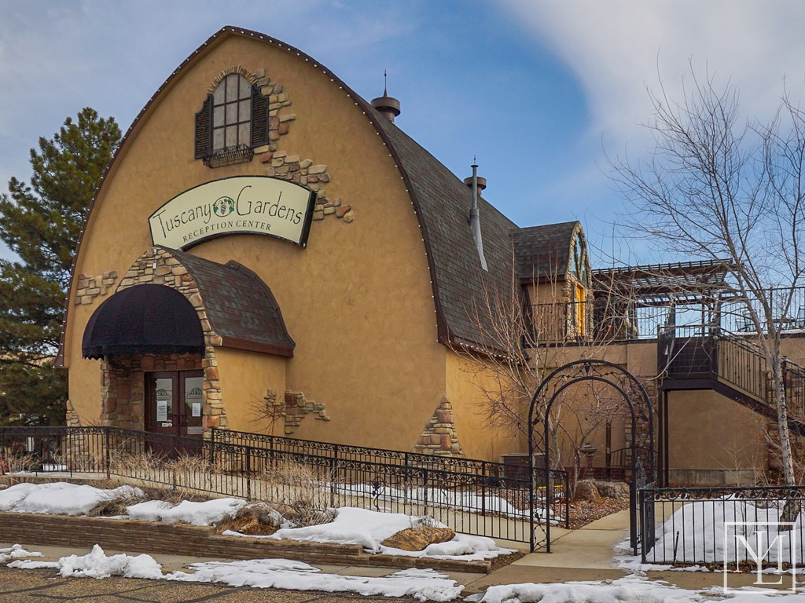 Tuscany Gardens Historic Gothic Barn For Sale