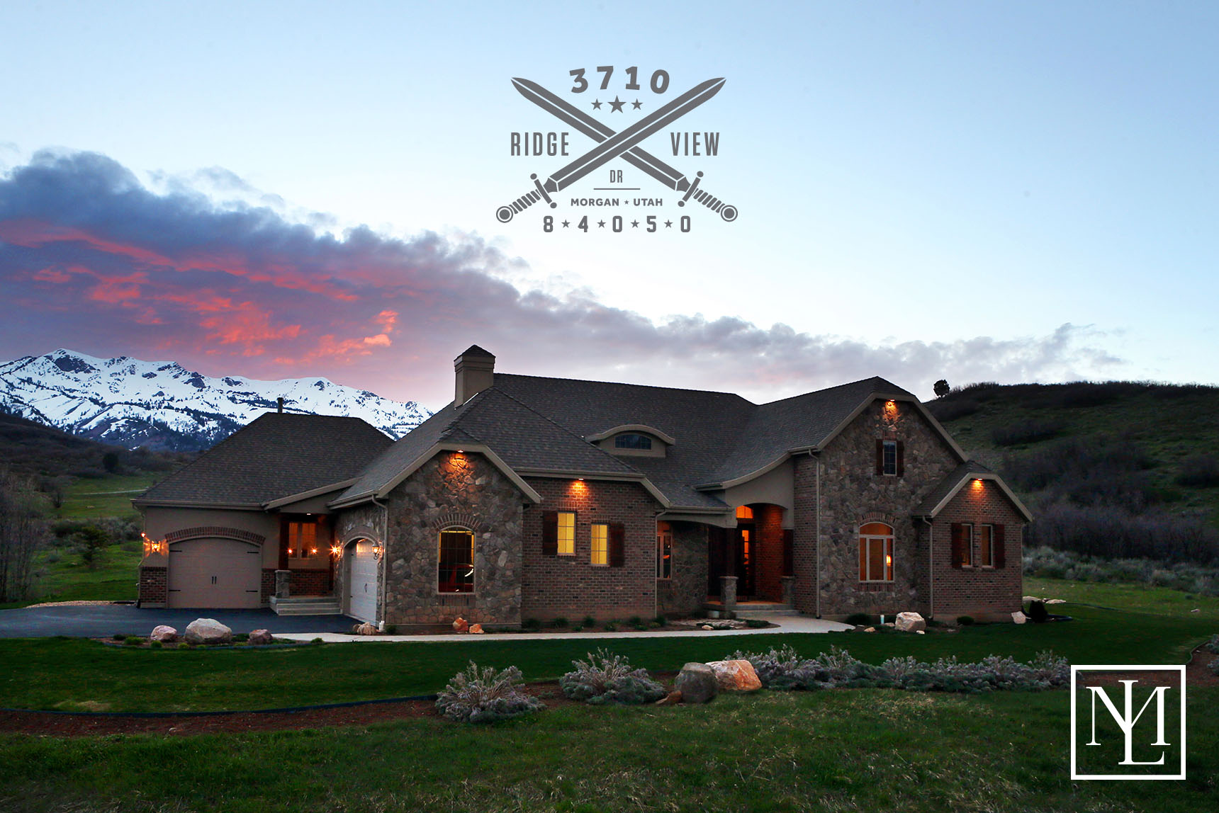 Secluded Luxury Living At 3710 West Ridge View Dr Morgan