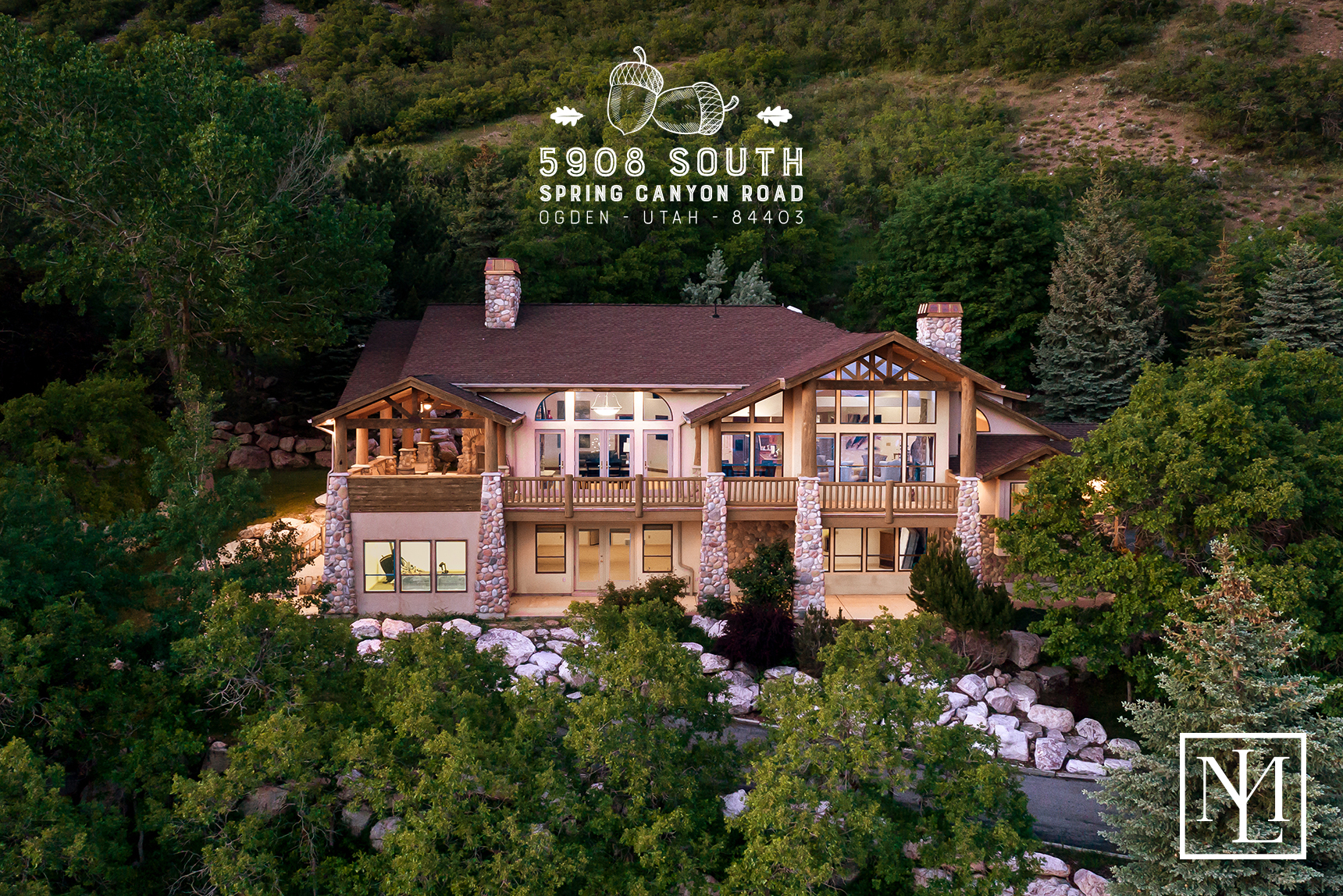 SOLD Elevated Mountainside Luxury At 5908 Spring Canyon Road Ogden UT 84403