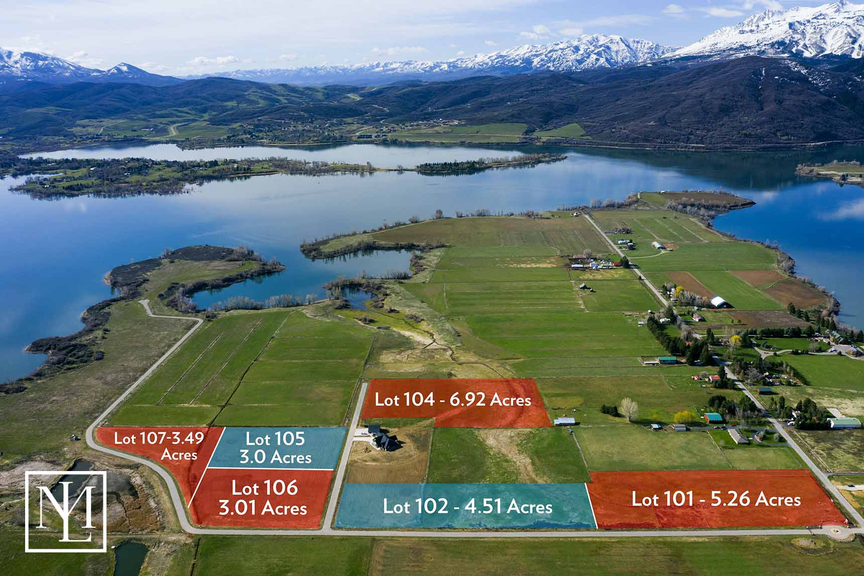Eden Lake Meadows, Eden Utah Land for Sale