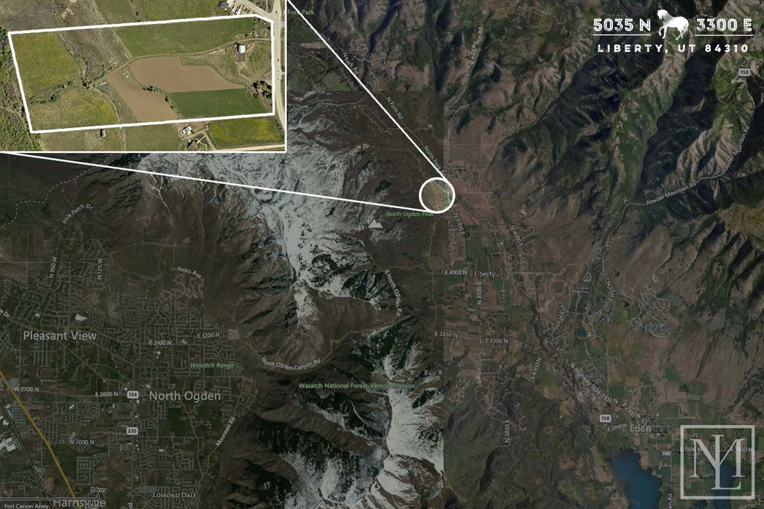 Ogden Valley Land Location