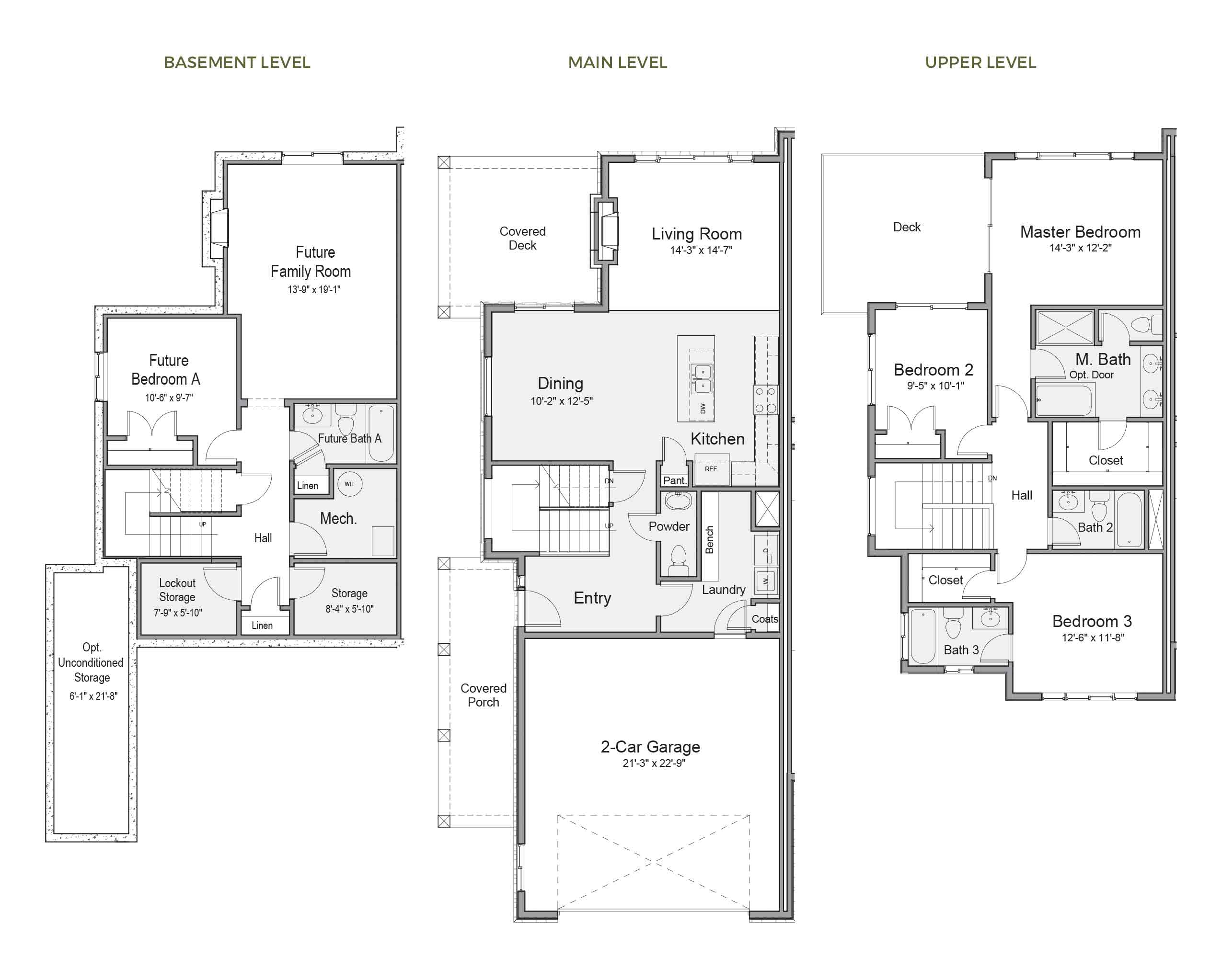 Pineview Floorplan