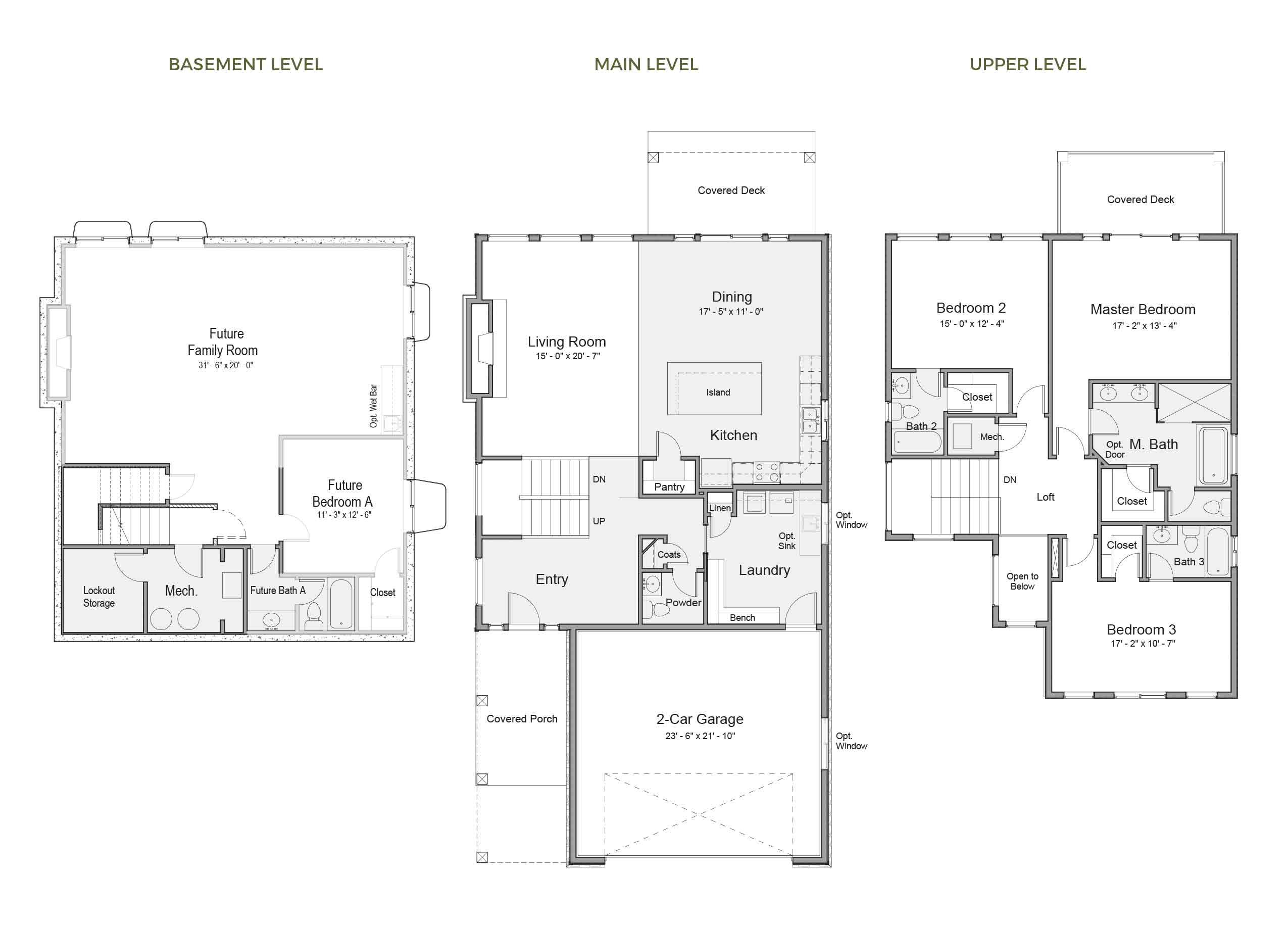 Powell Floorplan