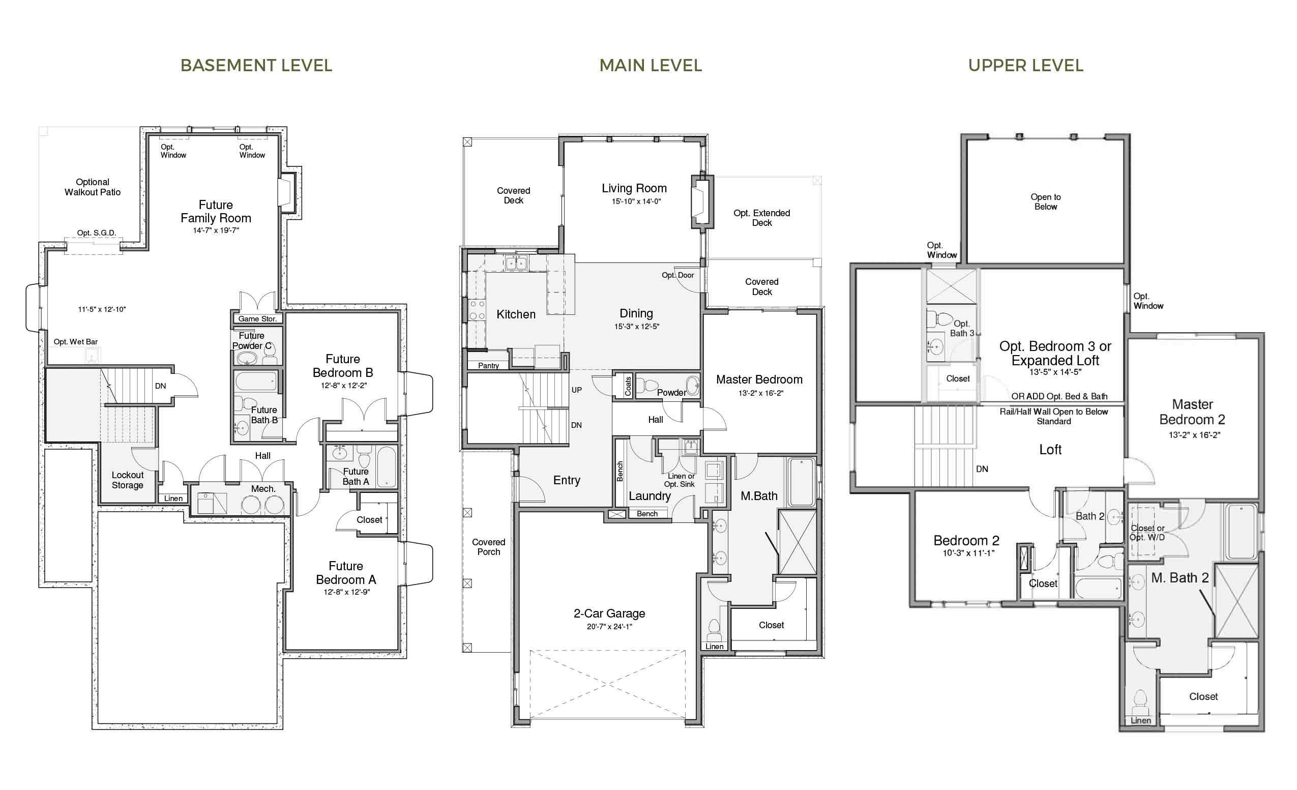 Rockport Two Floorplan